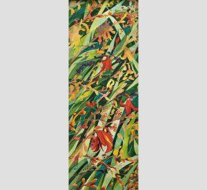 Crazy for Crocosmia Original Watercolor by Linda Goldstein
